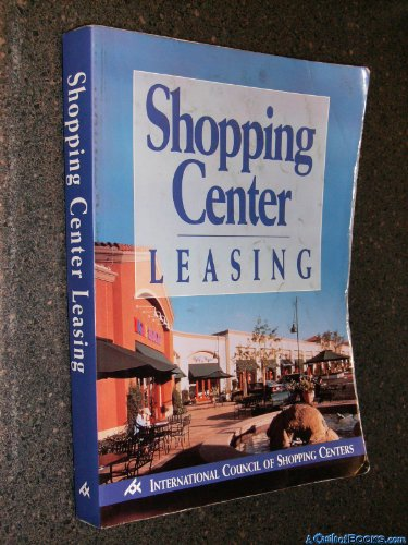 9781582680187: Shopping Center Leasing