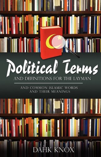 Political Terms (1582752524) by Knox, Dahk