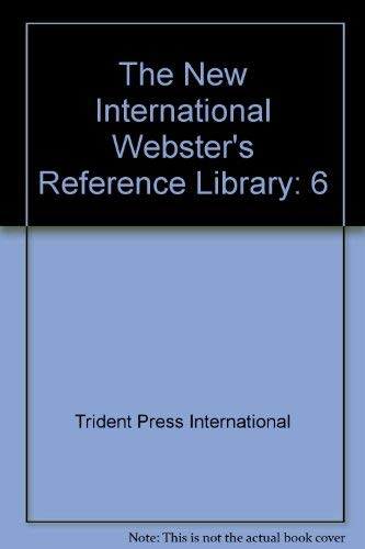 The New International Webster's Pocket Reference Library, 6 Book Set