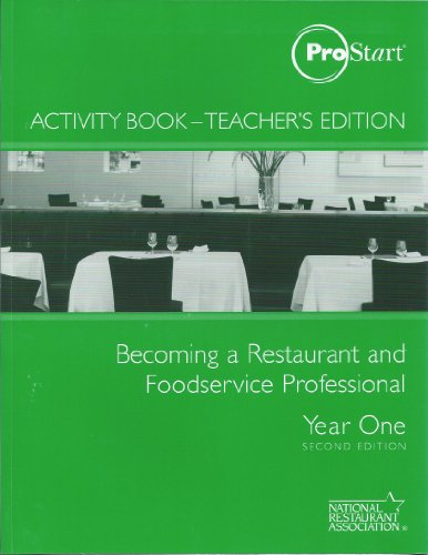 Becoming a Restaurant and Foodservice Professional -Year: ProStart