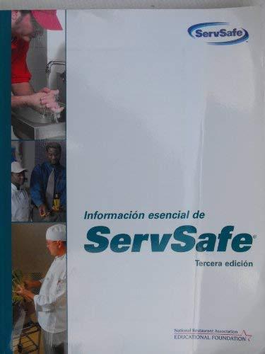 Informacion Esencial de ServSafe; Tercera Edicion