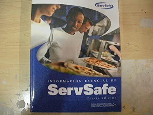 Informacion Esencial de ServSafe Cuarta Edicion: ServSafe