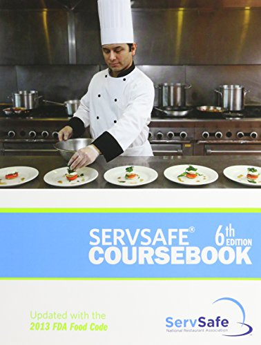 9781582803197: ServSafe Coursebook, 6th Edition
