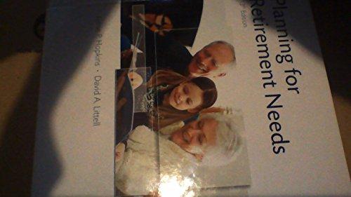 Planning for Retirement Needs: Jamie P. Hopkins
