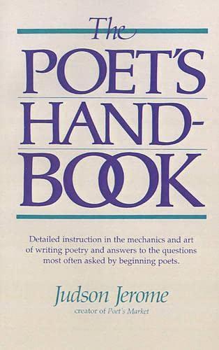 9781582971360: The Poet's Handbook
