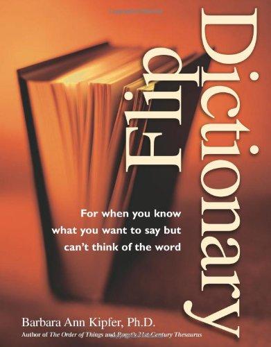 9781582971407: Flip Dictionary