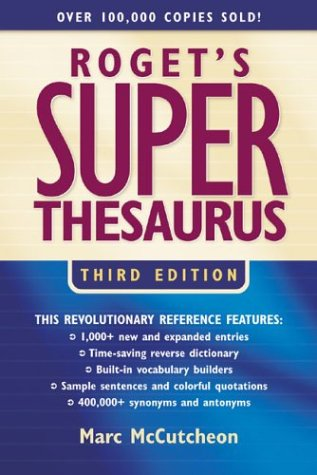 9781582972541: Roget's Super Thesaurus (Rogets)
