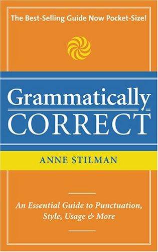 9781582973319: Grammatically Correct