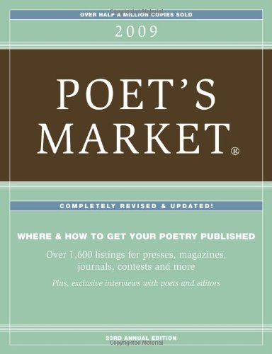 2009 Poet's Market (1582975442) by Editors of Writers Digest Books