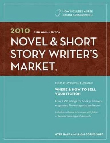 9781582975818: 2010 Novel & Short Story Writer's Market