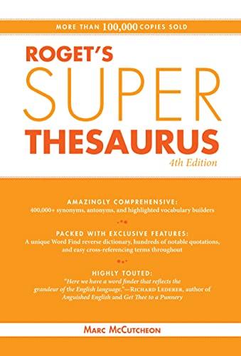 9781582979991: Roget's Super Thesaurus