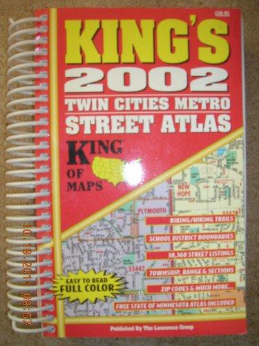 King's 2002 Twin Cities Metro Street Atlas: King Distribution