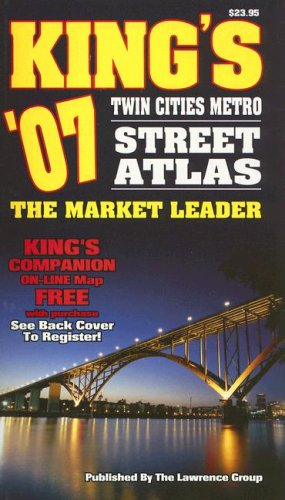 King's '07 Twin Cities Metro Street Atlas: