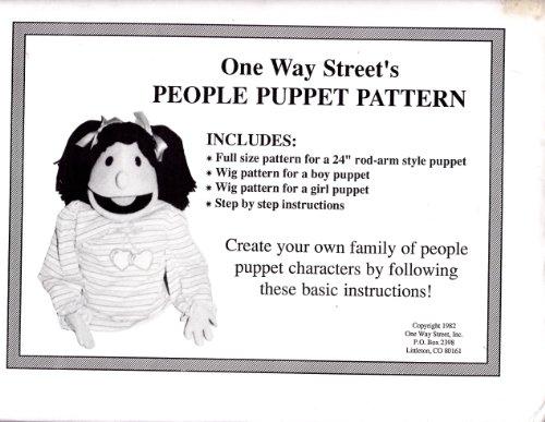 9781583020562: People Puppet Pattern