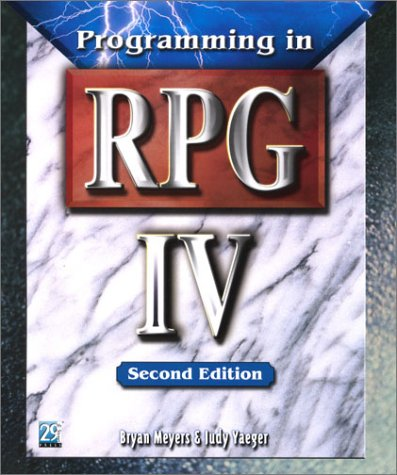 9781583040744: Programming in RPG IV, Second Edition