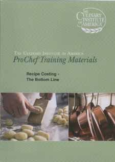 9781583153314: Recipe Costing: The Bottem Line DVD