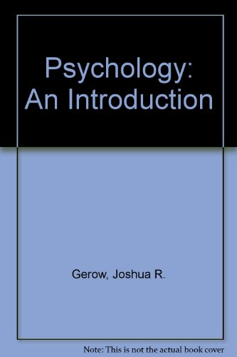 9781583160497: Psychology: An Introduction