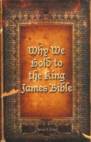 9781583181041: Why We Hold to the King James Bible