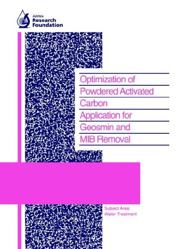 9781583210192: Optimization of Powdered Activated Carbon Application for Geosmin and Mib Removal