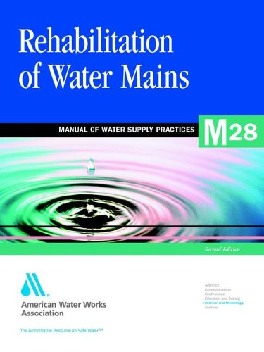 Rehabilitation of Water Mains: Awwa Manual M28: American Water Works