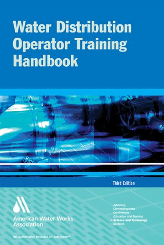 9781583213728: Water Distribution Operator Training Handbook 3e