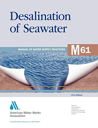 9781583218334: M61 Desalination of Seawater (Manual of Water Supply Practices)