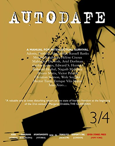 9781583224762: Autodafe 3/4: The Journal of the International Parliament of Writers