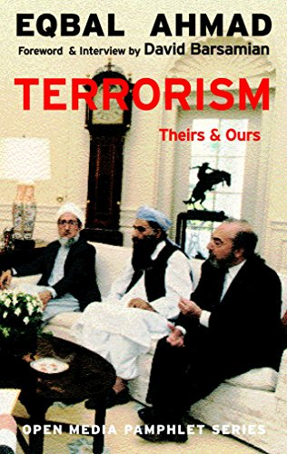 9781583224908: Terrorism: Theirs and Ours