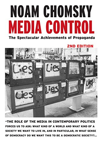 9781583225363: Media Control, Second Edition: The Spectacular Achievements of Propaganda (Open Media Series)