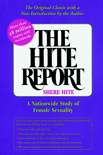 9781583225691: The Hite Report: A National Study of Female Sexuality