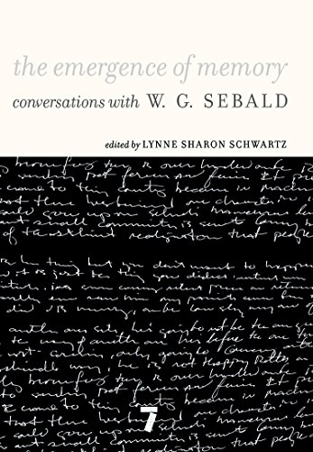 9781583227855: The Emergence of Memory: Conversations with W. G. Sebald