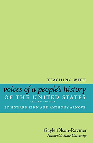 9781583229347: Teaching with Voices of a People's History of the United States: by Howard Zinn and Anthony Arnove