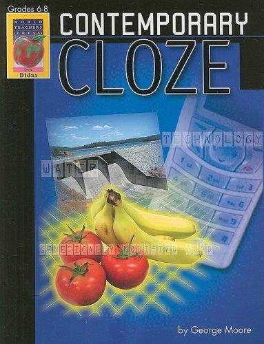 9781583242025: Contemporary Cloze, Grades 6-8