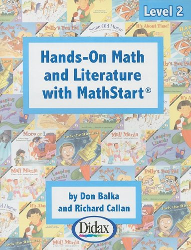 9781583242384: Hands-on Math and Literature with MathStart / Grades 1-2 (Level 2)