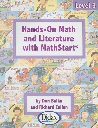 9781583242391: Hands-on Math and Literature with MathStart / Grades 2-4 (Level 3)