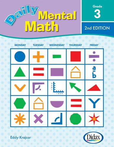 9781583242797: Daily Mental Math, 2nd Edition (Grade 3)