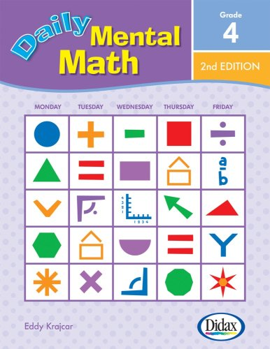 9781583242803: Daily Mental Math, 2nd Edition (Grade 4)