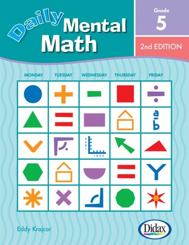 9781583242810: Daily Mental Math, 2nd Edition (Grade 5)