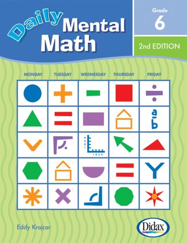 9781583242827: Daily Mental Math, 2nd Edition (Grade 6)