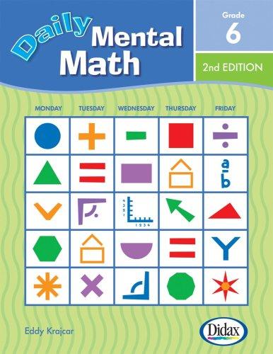 9781583242827: Daily Mental Math, 2nd Edition (Grade 6)