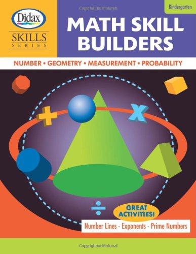 9781583243039: Math Skill Builders (Grade K)