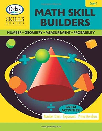 9781583243046: Math Skill Builders (Grade 1)