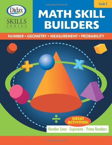9781583243053: Math Skill Builders: Number, Geometry, Measurement, Probability (Grade 2)