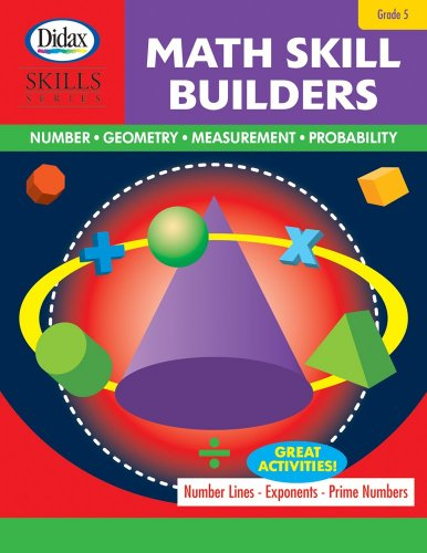 9781583243084: Math Skill Builders (Grade 5)