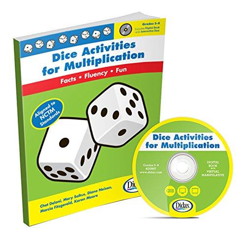 Dice Activities for Multiplication, Grades 3-6: Chet Delani; Mary Saltus; Diane Neison; Marcia ...