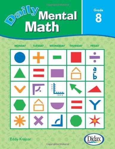 Daily Mental Math (Grade 8): Dr. Anne Paterson