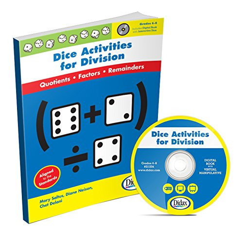 9781583243497: Dice Activities for Division