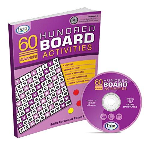 60 Advanced Hundred Board Activities (Grades 5-6): Sandra Clarkson