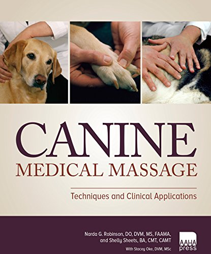 9781583262054: Canine Medical Massage: Techniques and Clinical Applications