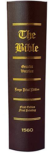 1560 Geneva Bible: William Whittingham; Thomas